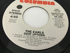 THE EARLS Goin' Uptown Promo NFS 7 inch 45 AS 163 vinyl STEREO