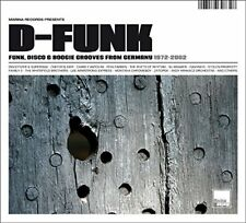 V/A Disco - D-Funk - Funk, Disco and Boogie Grooves From Germany 1972-2002 [CD]