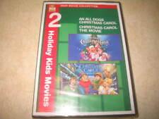 An All Dogs Christmas Carol/Christmas Carol: The Movie (DVD, 2010) - NEW *READ*