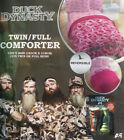 DUCK DYNASTY CAMO PINK TWIN COMFORTER SHEETS DUCK CALLS 5PC BEDDING SET NEW