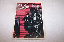 CINEMA - STRISCE INVISIBILI - cartolina vintage - cm 10,1 x 14,6 -