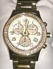 Neu tolles Geschenk: JETTE Joop Damen Chronograph FamousTime m.Swarovski Steinen