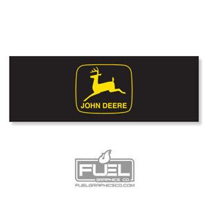 John Deere decal gator 4x2 6x4 6x4 diesel e-gator turf gator - Part #M125076