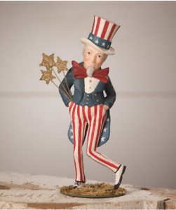 Bethany Lowe Patriotic 4th July Dancing Uncle Sam New 2021 TD0015