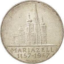 [#412382] Österreich, 25 Schilling, 1957, SS+, Silber, KM:2883