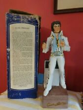 ELVIS  DECANTER - 1ST in SERIES - Music Box works