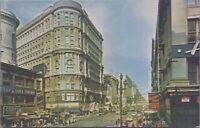 San Francisco CA Market Street Cars c1950s-60s Vintage Postcard - Unposted