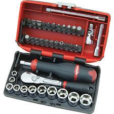 "Sidchrome 38pce 1/4"" Drive Nano Tool Set - SCMT12120"