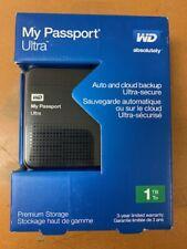 Western Digital My Passport Ultra 1 TB (Model: WDBZFP0010BBK-NESN)