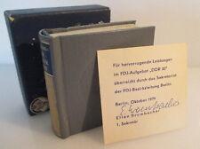 Minibuch: Weltraumflug UdSSR DDR verliehen vom Sekretariat der Bezirksl. bu0200
