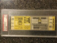 Psa 2 Full Unused 1948 World Series Ticket Cleveland Indians Boston Braves G3