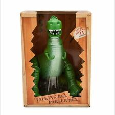 """Disneystore Toy Story Talking Rex (11 phrases)   - 12"""" boxed brand new"""