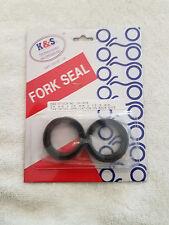 584-23145-50-00 yamaha fork seal kit dt1/rt1/rt2/dt250,360,400 1968-1978 pair