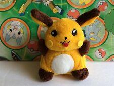 Pokemon Plush Raichu Doll figure Japan 1998 Bandai mini friends Toy pikachu