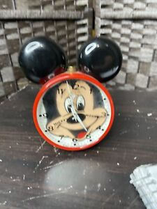 Vintage 1978 Bradley (Jerger - W. Germany) Mickey Mouse alarm clock not working