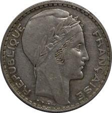FRANCE 20 Francs Turin 1936  F.400/5 TTB
