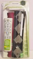 Pelican Faceplate & Remote Xbox 360 PL-3693 Black Grey Checkered Red NEW SEALED
