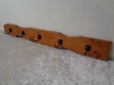 Wood Hook Rail/Coat Hook/Wardrobe - 95 CM