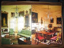 RARE - CHRISTIE'S DUMFRIES HOUSE 2 Volumes Chippendale Auction Catalogs 2007