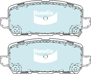 Brake Disc Pad Set  Bendix DB2355 4WD For HONDA HR-V RU 1.8L 2015-ON