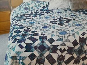 """""""Gone to Pieces"""" quilt magazine pattern tone on tone or batiks"""