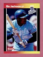 1989 DONRUSS BO JACKSON CARD #208 ROYALS  BASEBALL