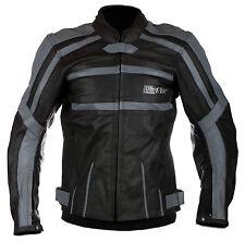Biker moto chaqueta cazadora moto de cuero S M L XL 48 50 52 54
