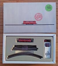 Märklin Z gauge railbus promotional set with track and battery controller unused