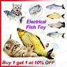 Cat Wagging Fish Realistic Plush Toy Simulation Catnip Gift for Pet Chewing FASP