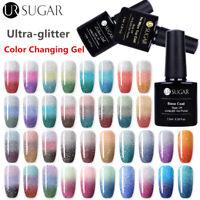 UR SUGAR Rainbow Thermal UV Gel Polish Color Changing Led Gel Nail Art Soak Off