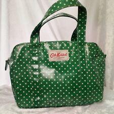 Cath Kidston Small Green Polkadot Handbag PVC