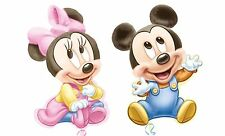 "Baby Mickey/ Minnie Mouse SuperShape 1st Jumbo Birthday Balloon 33"" Party Favor"