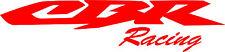 "#267 (2) 8.5"" HONDA CBR Racing CBR600  Stickers Decals Gloss Red Vinyl"