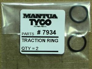 MANTUA & TYCO # 7934 TRACTION RING PAIR FACTORY ORIGINAL PARTS IN HO SCALE,