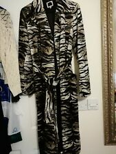Leopard Skin Animal Print Ex Oasis Long Mack Trench Coat Mack Attractive Sexy...