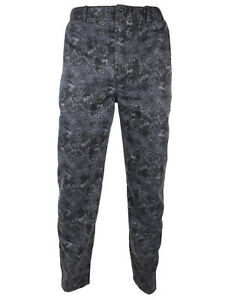Mens Location Military Inspired Utility Work Pants Camouflage Plain Casual Pant