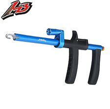 MadBite Lighted Hook Remover Fish Hook Puller for Night Fishing - Blue - 9.7""