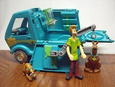 Scooby Doo Toy Mystery Machine Van Ghost Patrol Playset 3 figures lot