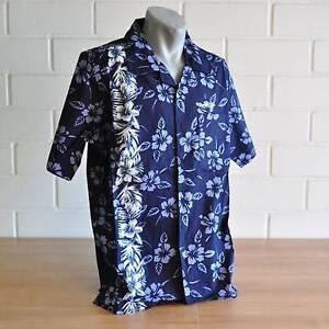 Simmer Style Herren Hawaii Hemd Navy Blau