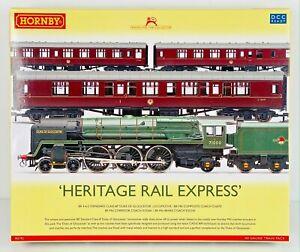 "HORNBY 00 GAUGE - R3192 - ""HERITAGE RAIL EXPRESS"" DUKE OF GLOUCESTER TRAIN PACK"