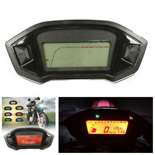 7 Color Motorcycle Speedometer Odometer Backlight Computer Odometer+Speed Sensor