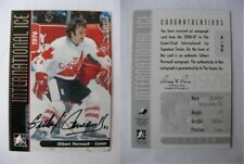 2006-07 ITG International Ice A-GP Gilbert Perreault  autograph  canada auto