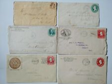 Lot of 6 Early Cancellations / Cover Envelopes