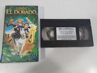 LA RUTA HACIA EL DORADO - VHS CINTA TAPE COLECCIONISTA ESPAÑA CASTELLANO