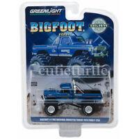 Greenlight 1974 Ford F-250 The Original Monster Truck Bigfoot #1 1:64 Blue 29934