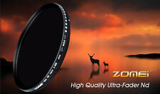 ZOMEi® Slim 72mm Variable ND Filter ND2 to ND400 Neutral Density