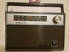 Vintage Magnavox Solid State AM/FM Radio 1R1208 Untested Made in Japan