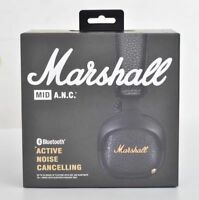 Marshall MID ANC Bluetooth (Active Noise Cancelling) Black Headphones