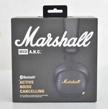 New Marshall MID ANC Bluetooth (Active Noise Cancelling) Black Headphones