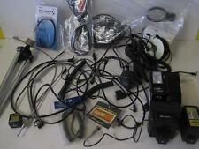 HUGE LOT OF VINTAGE CAMERA ACCESSORIES CORDS FLASH SHUTTER RELEASE CABLES WEIN